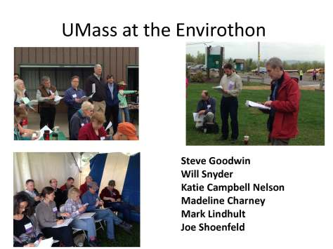 UMass at the Envirothon