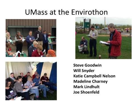 UMass at the Envirothon