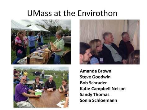 UMass at the Envirothon2