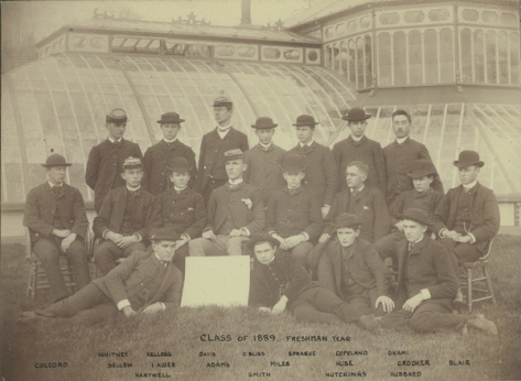 Durfee Greenhouse 1889