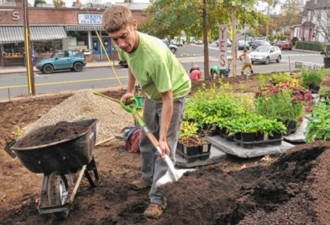 Local Harmony creates public space