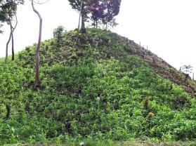 Traditionel Mesoamerican milpa farming in Guatemala